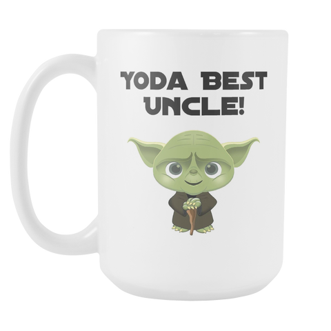 Yoda Best Uncle 15oz Mug