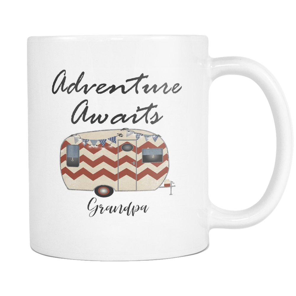 Adventure Awaits Grandpa 11oz and 15oz