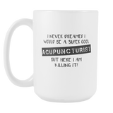 Acupuncture 15oz Coffee mug2