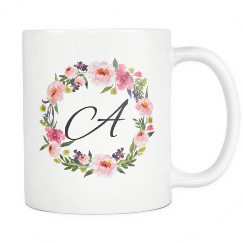 A Monogram 11oz Coffee Mug