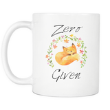 Zero Fox Given 11oz Mug