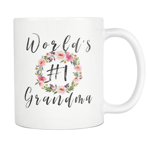 Worlds #1 Grandma Coffee 11oz Mug