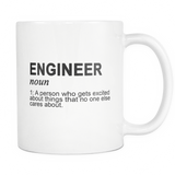Engineer Noun Coffee Mug