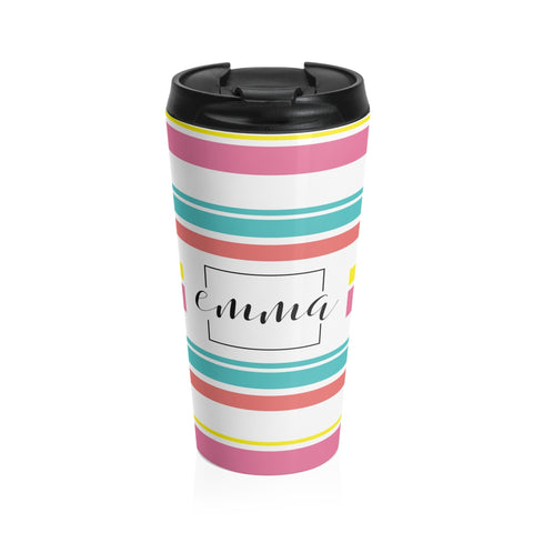 Joanna Spear Stainless Steel Travel Mug