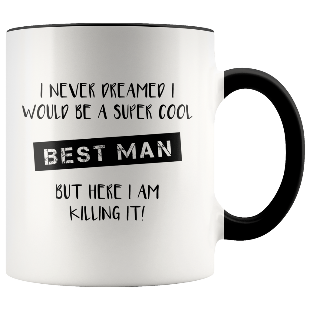 Best Man Accent Mug