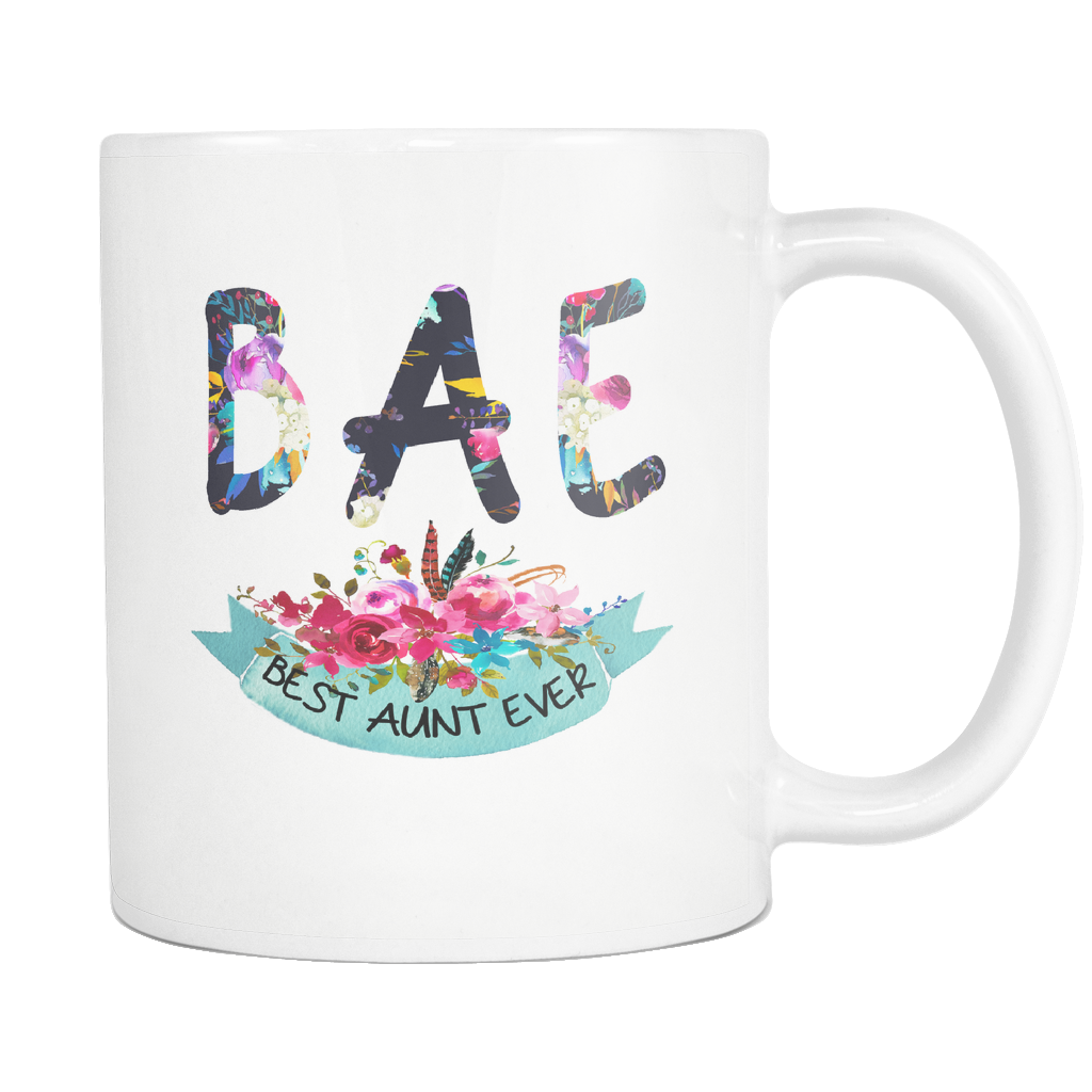 BAE Best Aunt Ever 11oz Mug