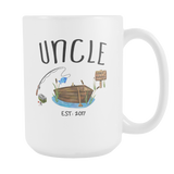 Uncle Fishing Est 2017 15oz Mug
