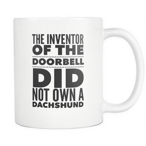 The Inventor Of The Doorbell Mug