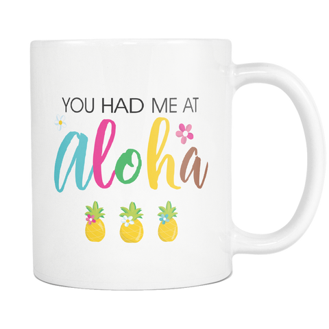 Aloha Coffee Mug 11oz Ceramic Coffee Mug