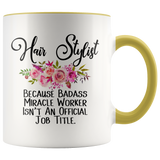 Hair Stylist Accent Mug
