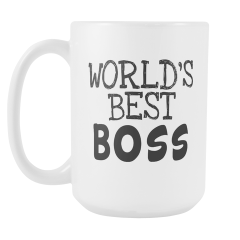 Worlds Best Boss 15oz Mug