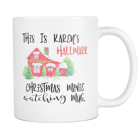 Hallmark Karen 11 and 15oz Mug