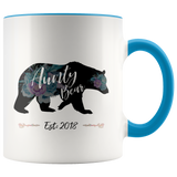 Aunty Bear 2018 Accent Mug