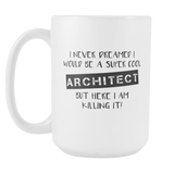 Super Cool Architect 15oz Mug