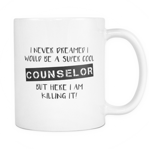 Super Cool Counselor Coffee Mug