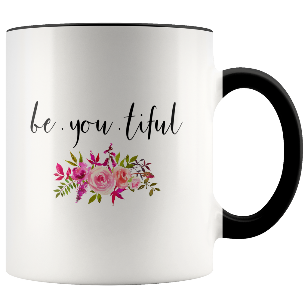 Be You Tiful Accent Mug