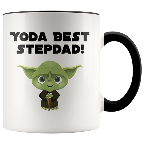 Yoda Best Stepdad Accent Mug