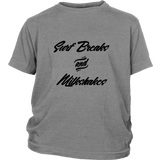 Surf Breaks & Milkshakes - Kids T-Shirt