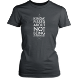 Kinda Pissed District Womens Shirt