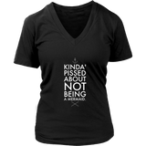 Kinda Pissed District Womens V-Neck
