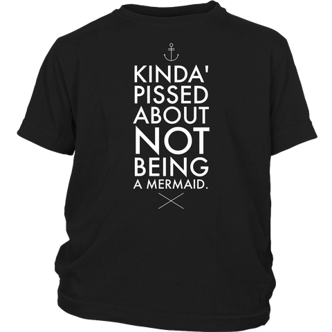 Kinda Pissed - Kids T-Shirt