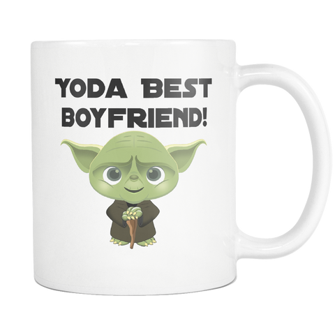 Yoda Best Boyfriend 11oz Mug