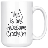 This is one awesome crocheter Mugs