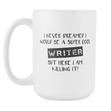Super Cool Writer 15oz Mug