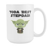 Yoda Best Stepdad 15oz Coffee Mug