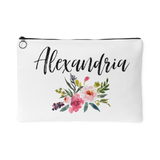 Personalised Makeup Bag or Accessory Pouch