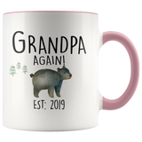 Grandpa Again 2019 Accent Mug