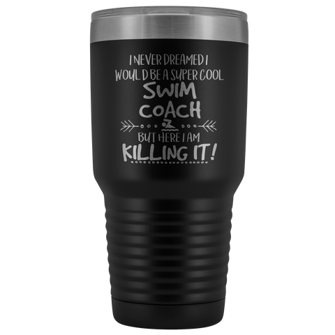 Swim Coach Travel Mug