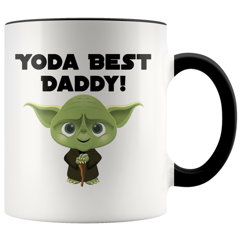 Yoda Best Daddy Accent Coffee Mug