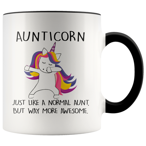 Aunticorn Accent Mug