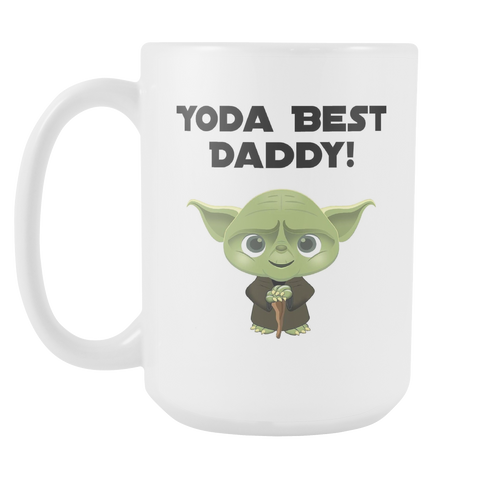 Yoda Best Daddy 15oz Mug