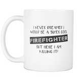 Super Cool Firefighter 11oz Coffee Mug