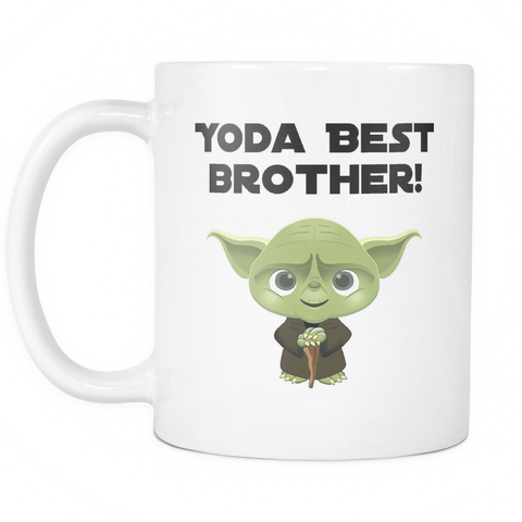 Yoda Best Brother Coffee Mug