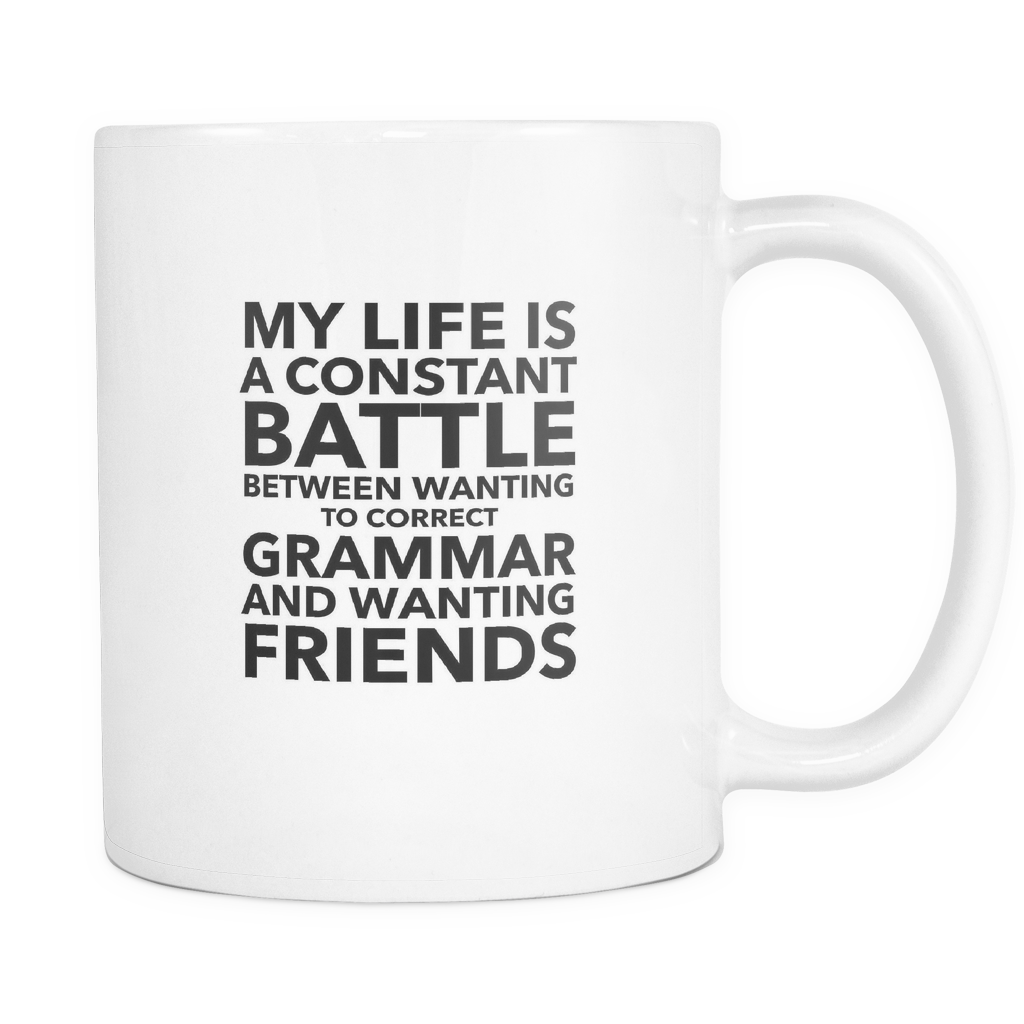 Grammar And Friends Coffee Mug