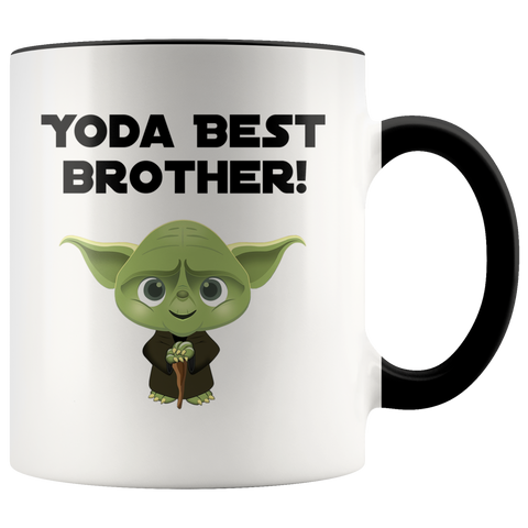 Yoda Best Brother Accent Mug Remake