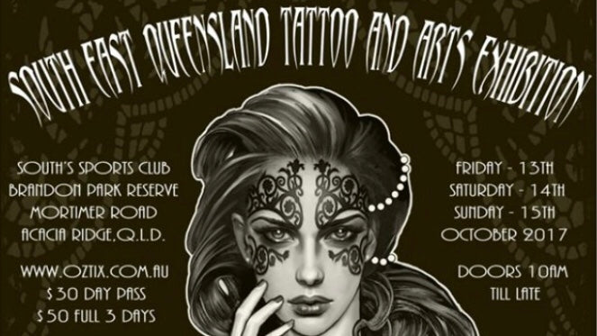 WIN $100 gift voucher from South East Queensland Tattoo and Arts Exhibition