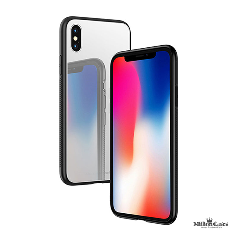 HOCO 9H Tempered Glass Back Case for iPhone X