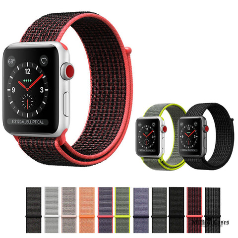 Sport Loop Woven Nylon Band for Apple Watch