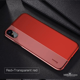 iPhone X Soft TPU & Hard PC Protective Shell Back Cover