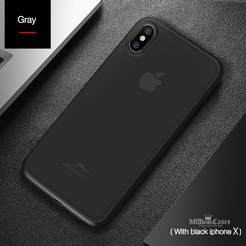 Ultra Thin Luxury PP Case for Apple iPhone X