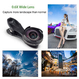 2 in 1 Optic Lens 4k HD Professional Macro Lense For iPhone