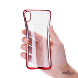 Protective Shell Shining Plating Phone Case for iPhone X