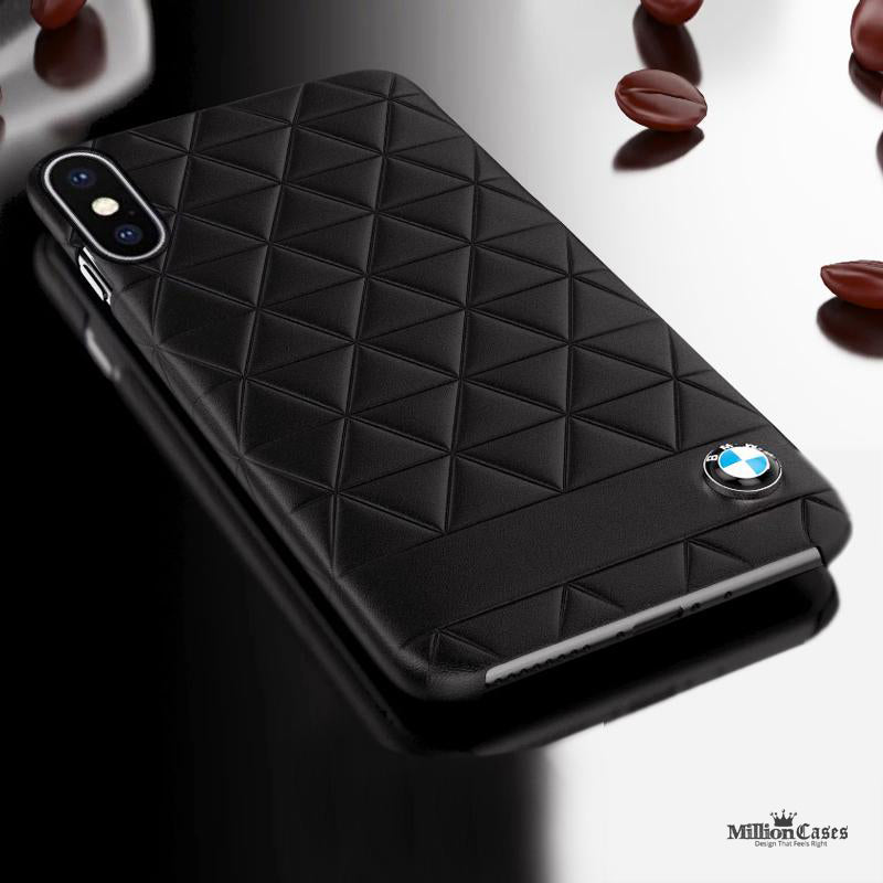BMW iPhone X Embossed Hexagon Case for iPhone X