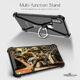 Ring Holder Metal Bumper Case for iPhone X