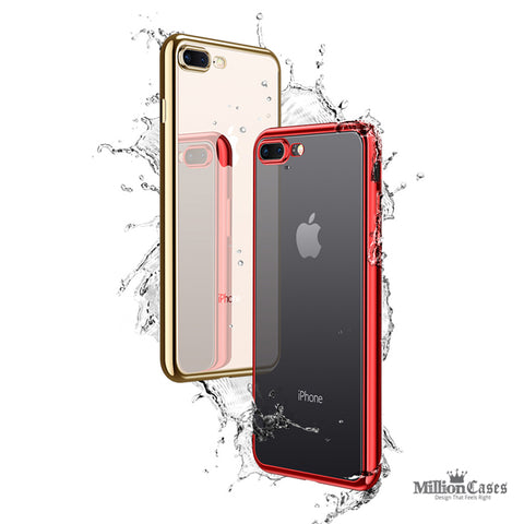 Soft TPU Protective Back Case for iPhone 8/ 8 Plus