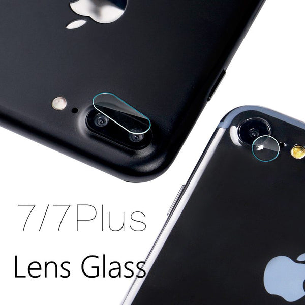 Apple iPhone 7, 7 Plus Camera Lens Tempered Glass Film Clear & Back Lens Screen Protector Film Glass